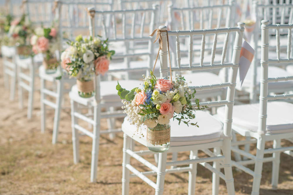 The luxury of simplicity in a wedding