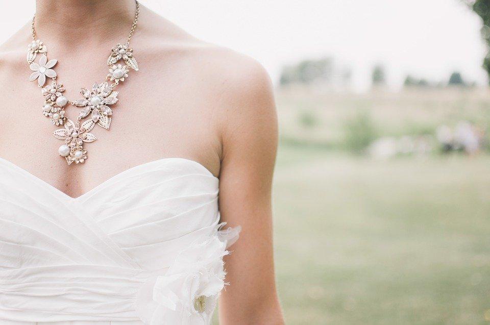 L'abito a misura di sposa